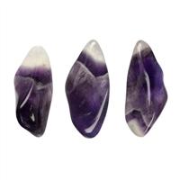 Tumbled Stones Amethyst (Chevron, long), 2,5 - 3,5cm (M)