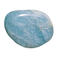 Tumbled Stones Aquamarine B, 2,5 - 3,0cm (L)