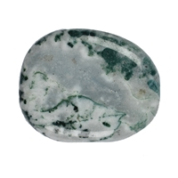 Tumbled Stones Moss Agate, 3,0 - 4,0cm (XL)