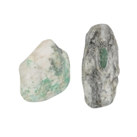Tumbled Stones Emerald in Matrix, 2,5 - 3,0cm (L)