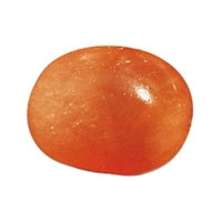 Trommelsteine Alabaster (orange), 2,5 - 3,0cm (L)