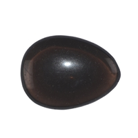 Smooth Stones Obsidian (Smoky Obsdian)