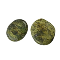 Smooth Stones Stichtite in Serpentine