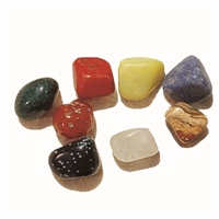 Tumble stone mix, appr. 20 - 25mm (M), Asia, 1kg