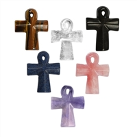 "Cross ""Ankh""  Set with 6 pc, 4,5 x 3cm"