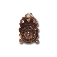"Agate Pendant ""Lucky Face""