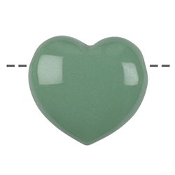 Heart Aventurine drilled, 4,5cm