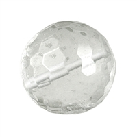Bead Rock Crystal faceted drilled, 16mm