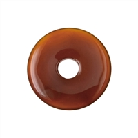 Donut Carnelian (heated), 40mm