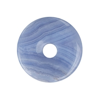 Donut Blue Lace Agate, 40mm