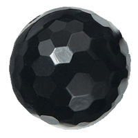 Bead Onyx (dyed) faceted drilled, 20mm