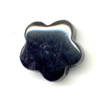Blossom Onyx (dyed) drilled, 15mm