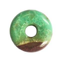 Donut Chrysoprase, 45mm, thick