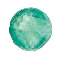 Bead Fluorite faceted drilled, 16mm