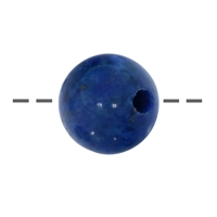Bead Lapis A drilled, 20mm