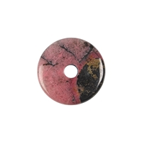 Donut Rhodonite, 30mm