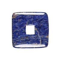 Donut square Sodalite, 40mm