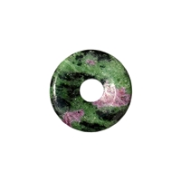 Donut Zoisite/Ruby, 30mm