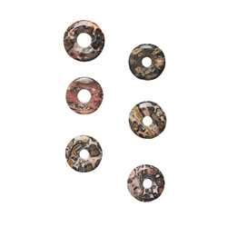 Donut Jasper (Leopardskin), 15mm (6 pc/VE)