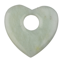 Extra large Heart Serpentine, 7cm