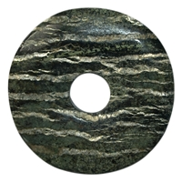 Donut Serpentine (Silver Stripe Serpentine), 60mm