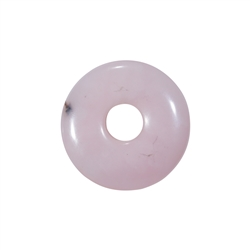 Donut Andenopal pink, 30-34mm