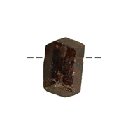 Double Point Dravite drilled, 2,0 - 3,0cm