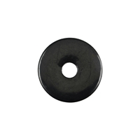 Donut, Shungite, 30mm