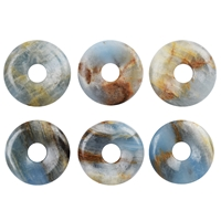 Donut Aragonite (blue), 30mm