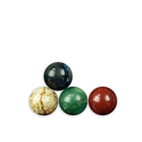 50 mixed Spheres, appr. 2cm