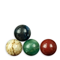 50 mixed Spheres, appr. 3cm