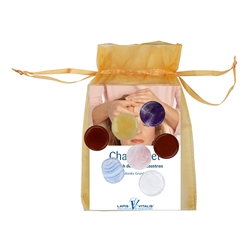 Chakra-Set small, with Organza Pouch