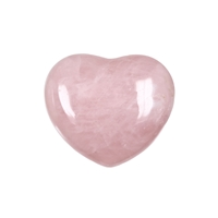 Puffy Hearts, mixed Stones, 4,5cm (50 pc/VE)
