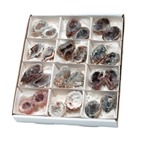 Geode Pairs Agate, appr. 07cm (12 pairs/VE)