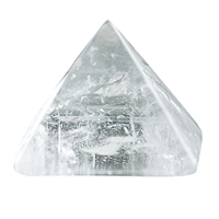 Pyramid Rock Crystal in Gift Box, 04cm