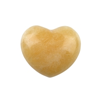 Puffy Heart, Calcite (orange), 4,5cm