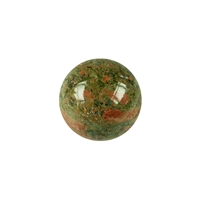 JOYA massage pen exchange sphere epidote feldspar (unakite), 15mm
