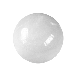 Massage Sphere Snow Quartz in Giftbox, 04cm