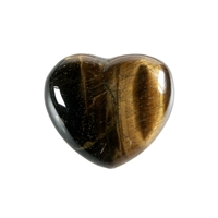 Puffy Heart, Tiger's Eye, 4,5cm