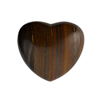 Puffy Heart, Tiger's Eye, 5,5cm