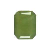 "Flatstone eckig Serpentin (""China Jade"") lose"