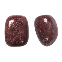 Tumbled Stones Aventurine (red), appr. 3,0cm (100g/VE)