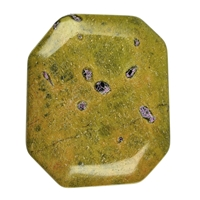 Angular Flat stone, Stichtite (violet) in Matrix (green) loose