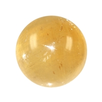 Sphere, Calcite (Honey), 05,5 - 06,5 cm