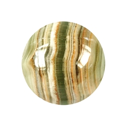 Massage Sphere Calcite Aragonite (Onyx Marble) in Giftbox, 04cm