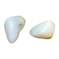 Tumbled Stones Opal (white), appr. 2,5 - 3,0cm (100g/VE)