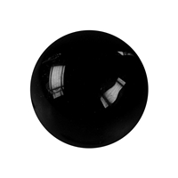 Massage Sphere Obsidian (black) in Giftbox, 04cm