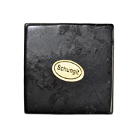 Tile Shungite in Giftbox, 04 x 04cm