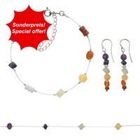 "Set Chakra Jewelry ""Wire""