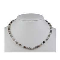 Necklace Bead, Agate, 06mm/45cm